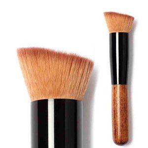 Oyedens Pinceaux De Maquillage Anticernes Poudre Blush Fond De Teint Liquide Pinceau De Maquillage: Tweet 1 pc brosse MatéRiel: Cheveux…