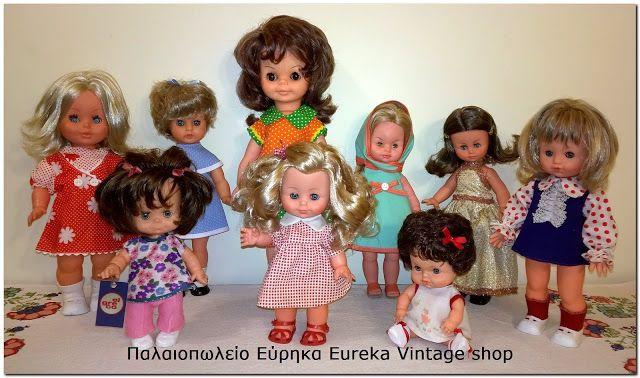 Ιταλικές και ελληνικές κούκλες 1960's – 1970's