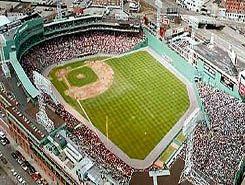 fenway park. boston red sox stadium, Massachusetts. Love the Green Monster.