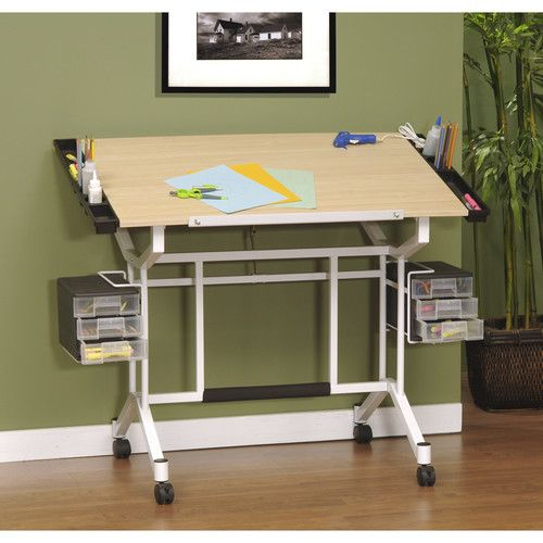 Found it at Wayfair - Pro Craft Station Wood Drafting Table
