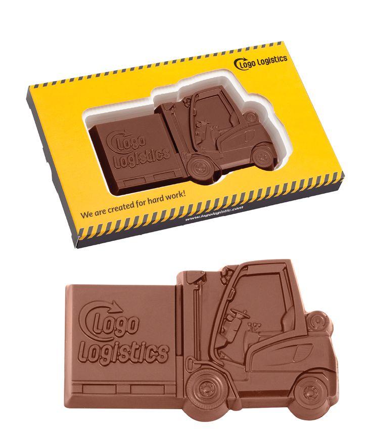 Czekoladowy wózek widłowy / Chocolate Forklift