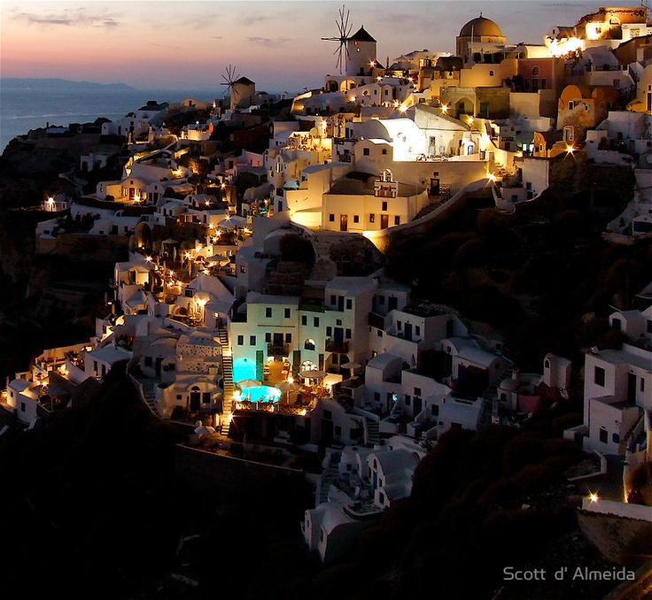 night-in-greece