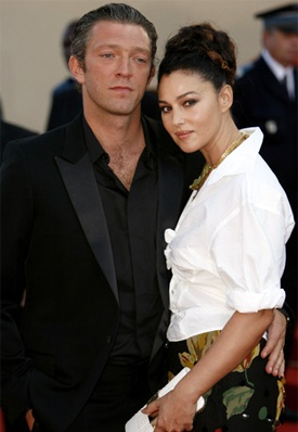 MONICA BELLUCCI AND VINCENT CASSEL. THE HOKEY POKEY MAN AND AN INSANE HAWKER OF FISH BY CONNIE DURAND. AVAILABLE ON AMAZON KINDLE.