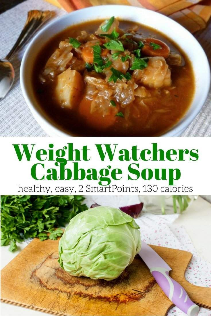 Weight watcher soup recipe