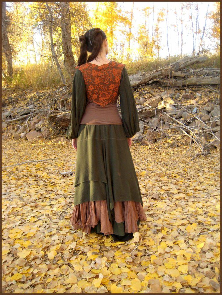 Orange Bodice Back by aelthwyn.deviantart.com on @deviantART