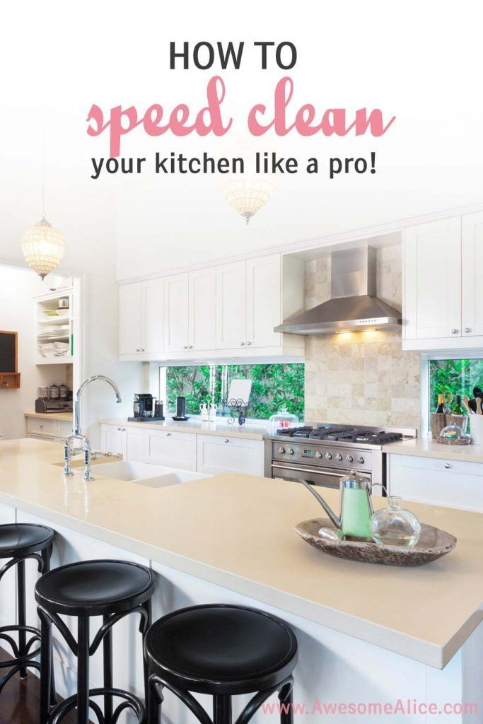 How To Sd Clean The Kitchen Fast Quick Cleaning Tips