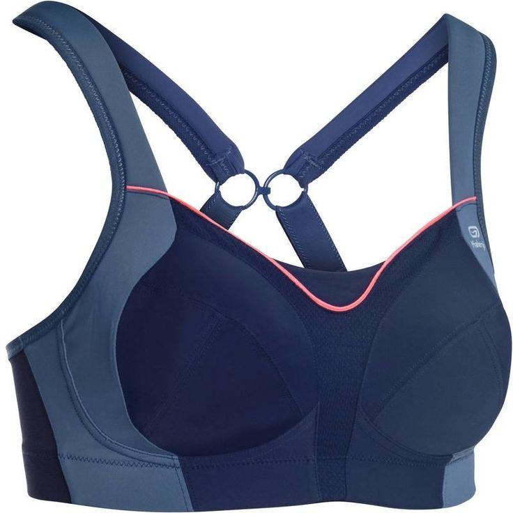 Jogging Abbigliamento - Reggiseno SPORTANCE POWER blu KALENJI - Intimo,accessori