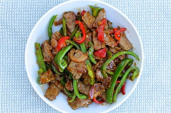 Authentic Asian Recipes: Pepper Steak with Onion Recipe