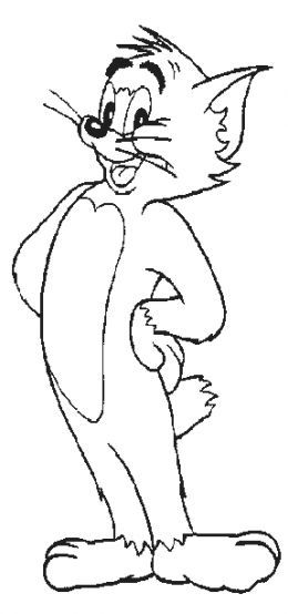 tom 46 jerry coloring pages - photo#45