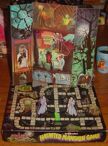 vintage baord games | Vintage Disney Haunted Mansion board game