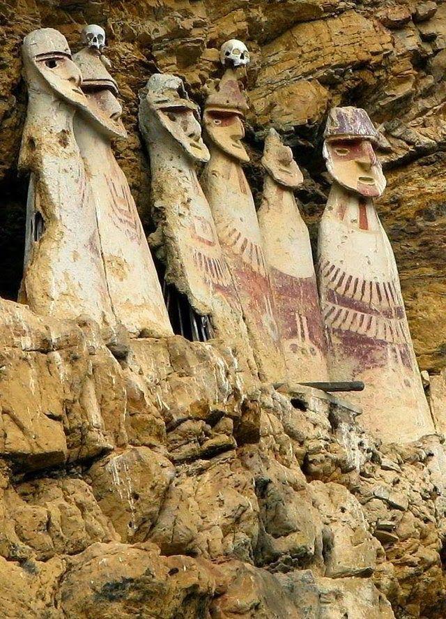 El extraño sarcófago de los Chachapoya en Perú