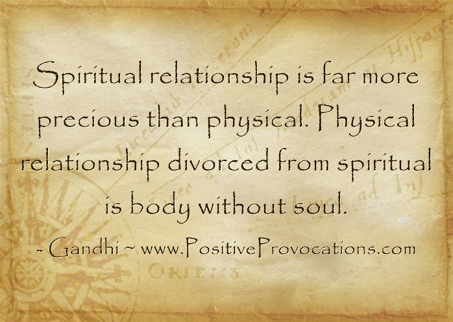 soul and body relationship