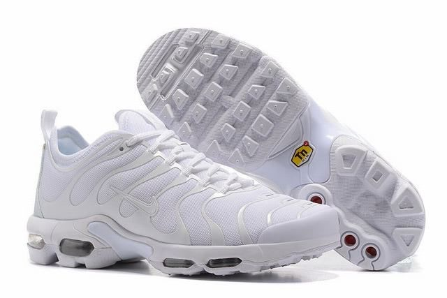 Chaussures de Nike Air Max Tn Requin Enfant Blanc Nike Tn