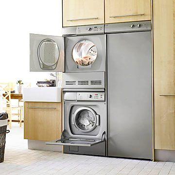 M s de 1000 ideas sobre estante de lavadora secadora en pinterest mesas plegables estantes de - Rack lavadora secadora ...
