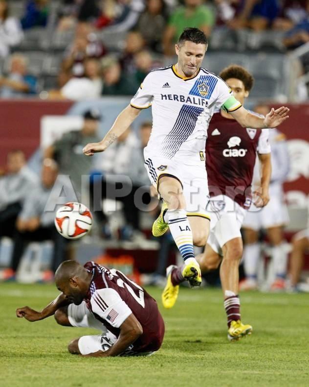 Aug 20 2014 Mls Los Angeles Galaxy Vs Colorado Rapids Robbie Keane Marvell Wynne By Isaiah J Downing Sports Ph Colorado Rapids Robbie Keane Los Angeles