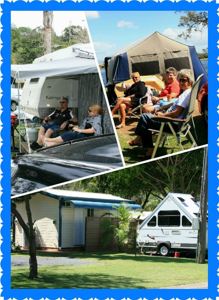 Spring is here, time for camping! #whitealbatross #nambuccaheads #visitnsw #camping #caravanning
