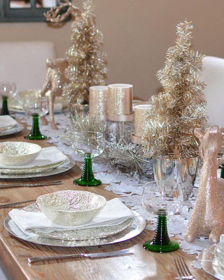 70 ultra modern christmas tablescape stunners. beautiful ideas. Home Design Ideas