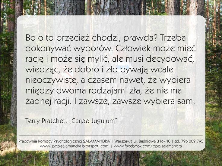 Terry Pratchett o wolności i odpowiedzialności