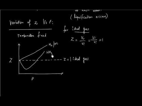What is COMPRESSIBILITY FACTOR for gasses LECTURE