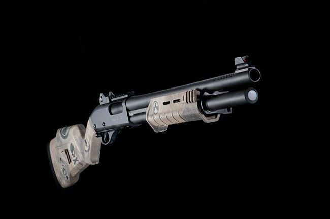 Nighthawk Tactical Custom, Remington 870. The defensive shotgun is one of the best defensive weapons for home defense, especially when facing multiple threats. We teach tactics and best practices in our Shotguns for Home Defense course at http://www.superiorsecurityconcepts.com