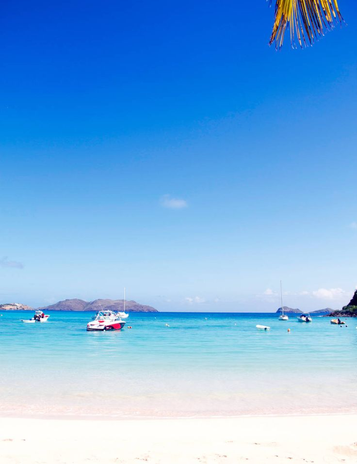 Petite St. Jean beach in St. Barts. #Caribbean #Travel