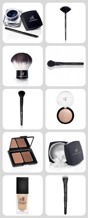 Basic drugstore make-up kit