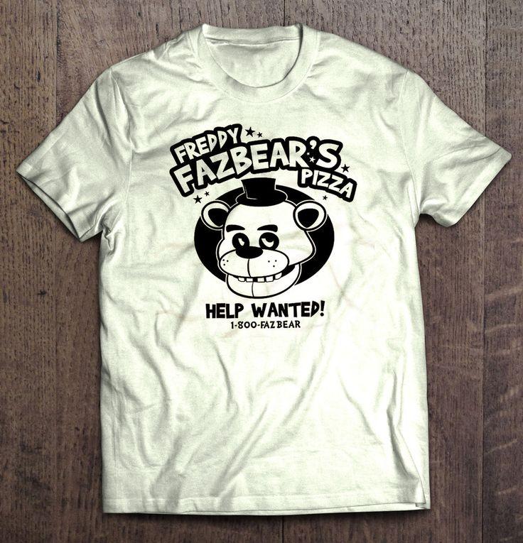 Five Nights At Freddy's - Freddy Fazbear's Pizza Help Wanted T Shirt