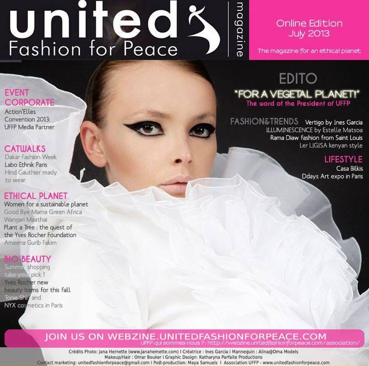 Cover United Fashion For Peace