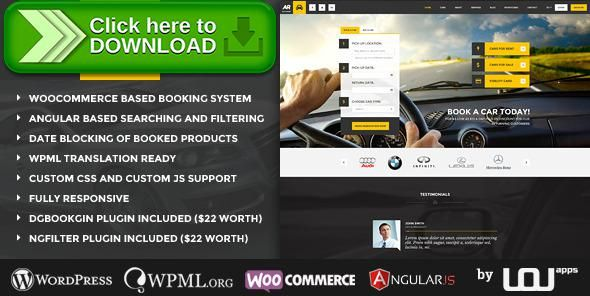 [ThemeForest]Free nulled download Auto Rent - Car Rental WordPress Theme from http://zippyfile.download/f.php?id=2719 Tags: automobile, booking system, buy a car, car booking, car broker, car listing, car rental, car shop, rent a car, rental, rental services, reservation, sell a car