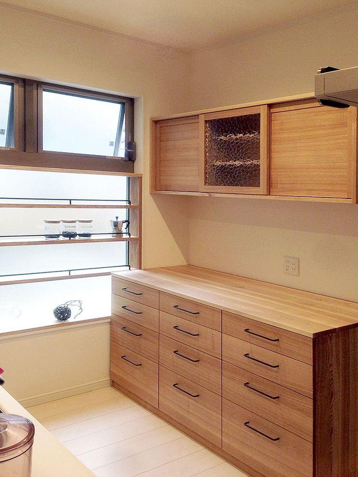 オーダー家具・食器棚、小棚/関西・大阪・北摂 | oguma