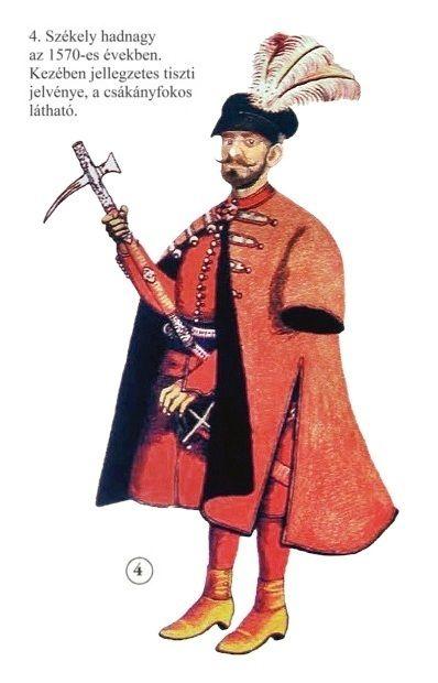 Szekler infantry officer, 1570
