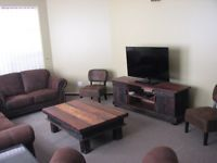 Rates differ according to time of the year.October holidays:  R1 400.00 per day - self cateringThis 3 storey house in Hartenbos is in walking distance from the beach.Sleeps 14 peopleBedding and towels includedLarge kitchenTV's with DVD playersEntertainment room with large pool table2 x large decks overlook the amphitheatre in Hartenbos.Washing masjine, tumble dryer and dishwashing masjinePlease contact for more details.