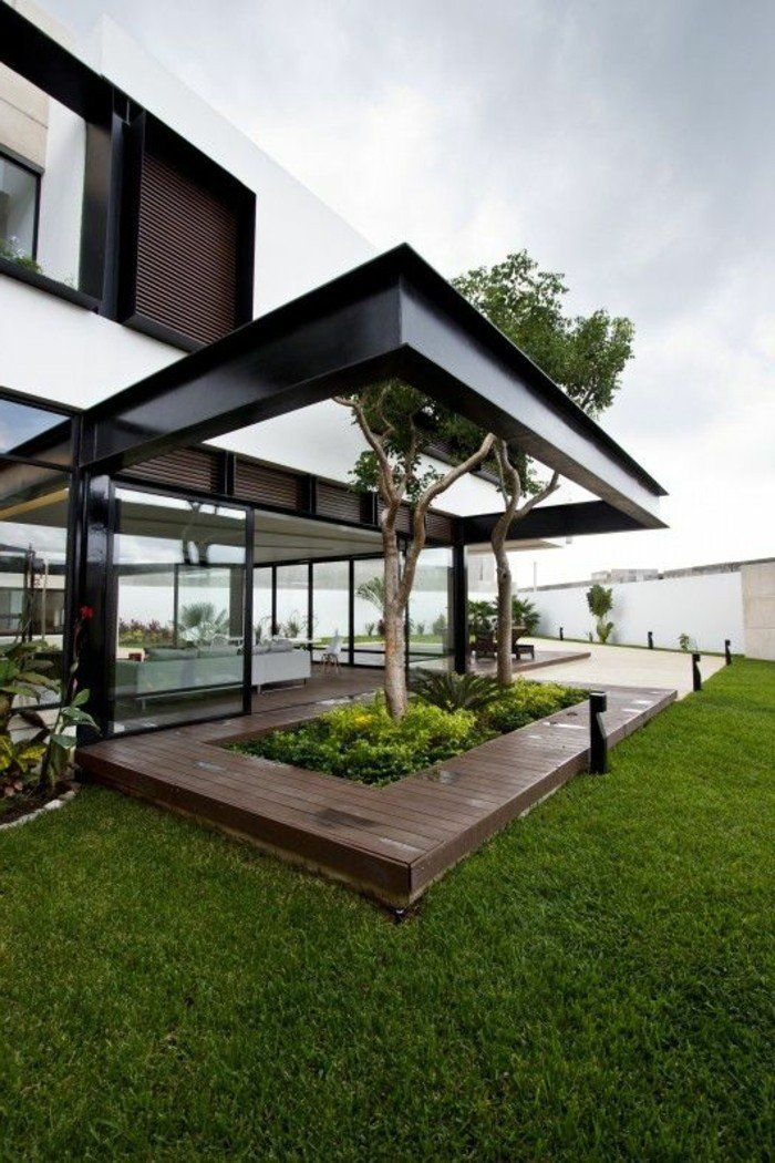 les 25 meilleures id es de la cat gorie pergola acier sur. Black Bedroom Furniture Sets. Home Design Ideas