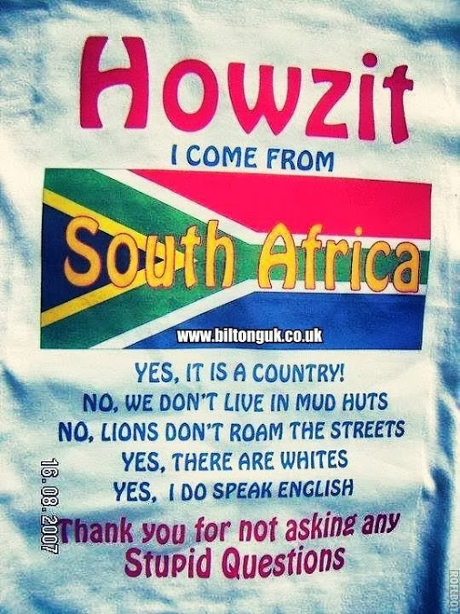 South African T Shirt