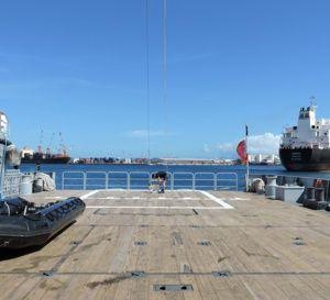 A+bord+du+navire+D'Entrecasteaux