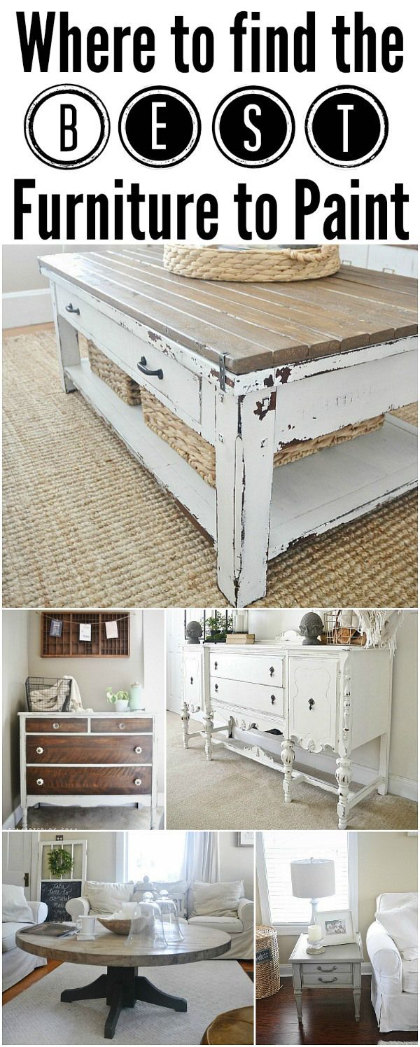 Tips & Tricks on where to find the best project furniture!!