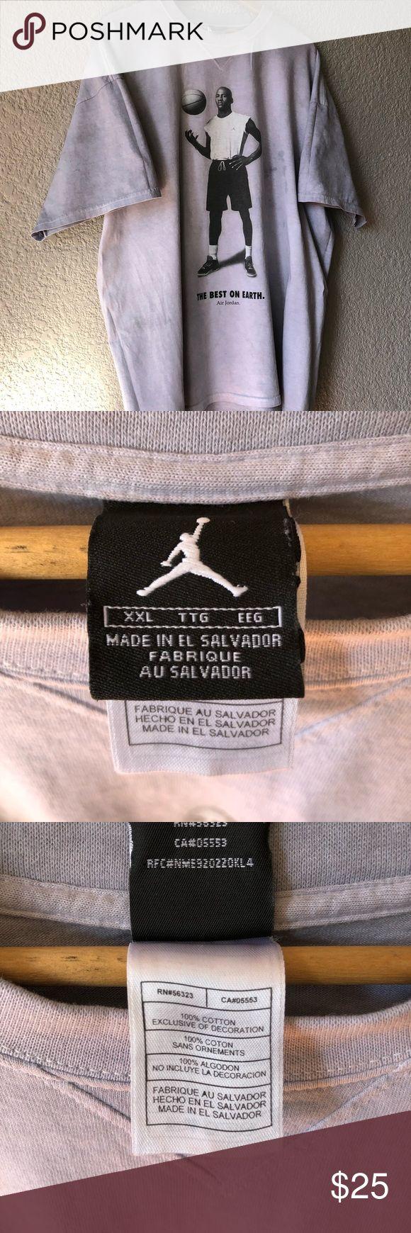 VTG Jordan 2XL Double Sided Graphic Tee RARE! VTG Jordan 2XL Double Sided Graphic Tee RARE! Jordan Shirts Tees - Short Sleeve
