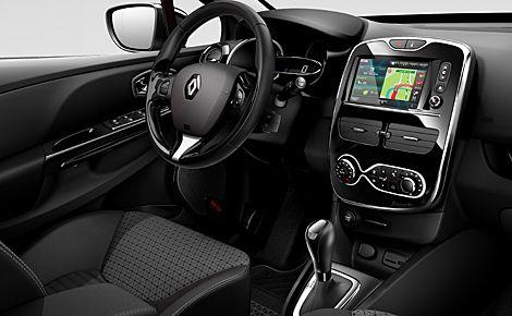 www.autoreduc.com Renault Clio 4, un bel écran qui permettra de se connecter sur Internet...