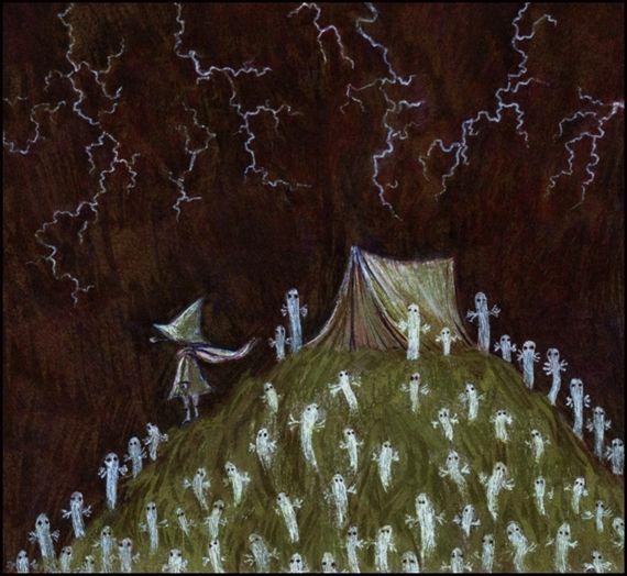 Basia Konczarek - Snufkin and Riders on the storm