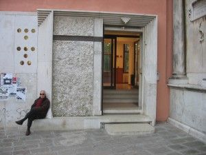 Entrance Faculty of Letters and Philosophy, Carlo Scarpa | Venice | Italy | MIMOA