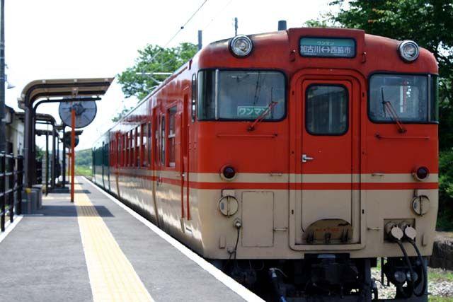 キハ47系 小野町駅 2004年6月19日撮影