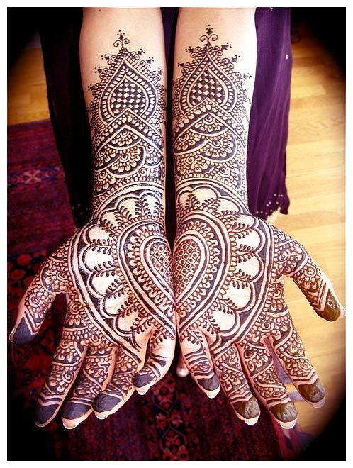 Simple Heart Henna Designs: Henna Hand Heart