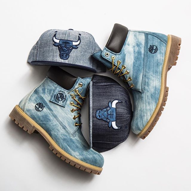 Love Denim? We have you covered • Timberland 6 inch Denim boot available now #Timberland #NewEraCap
