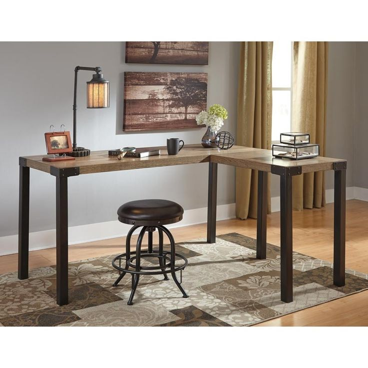 25 best ideas about small l shaped desk on pinterest office room ideas home study rooms and. Black Bedroom Furniture Sets. Home Design Ideas