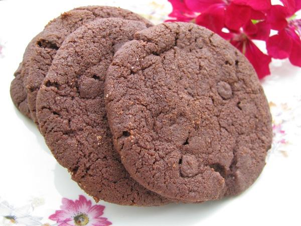 Biscotti al cioccolato  ( da Pasticceria, le mie ricette di base di M.Santin)