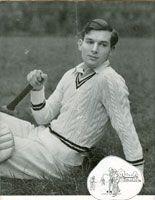 vintage mens cricket jumper