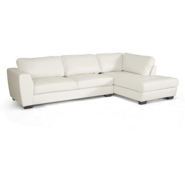Enfield Modern White Leather Sofa: 1000+ Ideas About White Leather Sofas On Pinterest