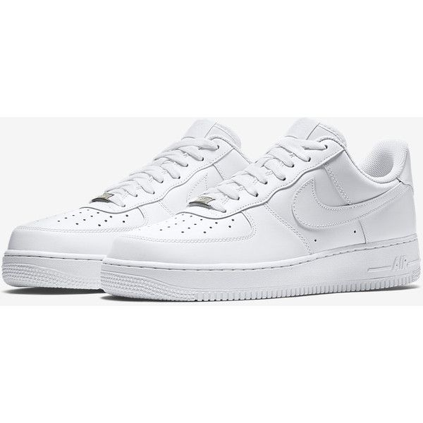 Nike Air Force 1 Men's Shoe ($90) ❤ liked on Polyvore featuring men's fashion, men's shoes, nike mens shoes and mens shoes