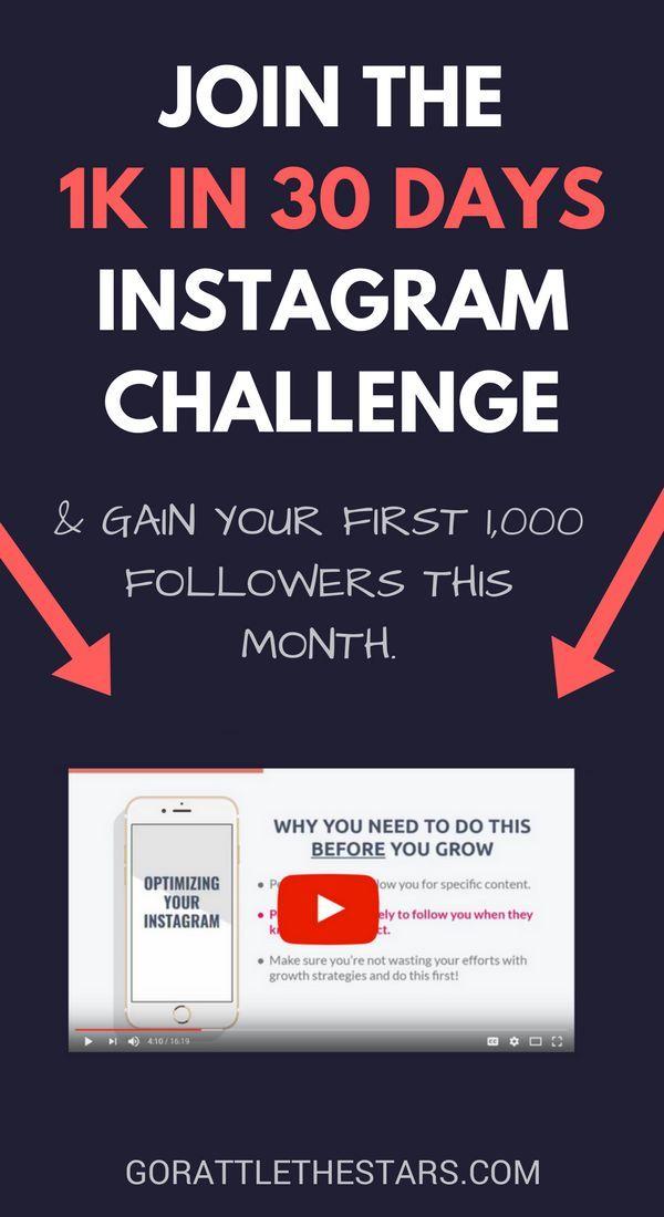 Free Instagram course   10k Instagram followers   get 1000
