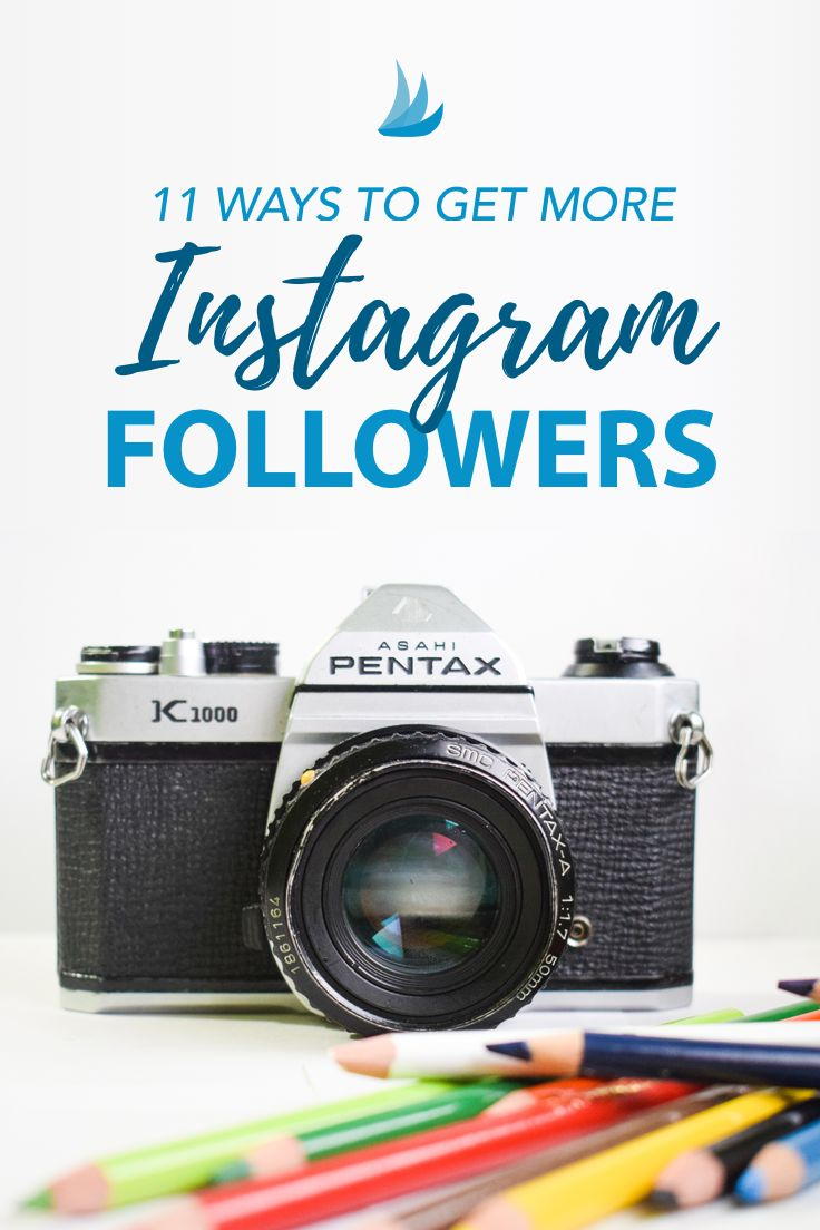 11 Ways to Get More Instagram Followers. Want to get more authentic Instagram followers? Here are 11 techniques used by our most successful members. Which will you try first? #instagrammarketing via @tailwind